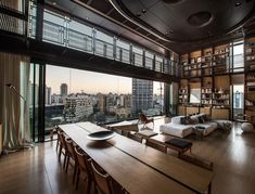 Incredible penthouse overlooking downtown Beirut, Lebanon [1440 x 1098] : RoomPorn