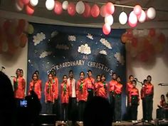 """▶ """"Christmas Means God Loves You"""" Sung by The Mus-Kids Choir, PCO Ruwi Church, Muscat, Oman - YouTube"""