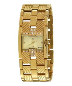 Take a look at this Champagne Attraction Watch - Women by Axcent of Scandinavia on #zulily today!