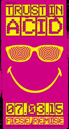 TRUST IN ACID // 07.03.2015 @ Fiese Remise, Berlin Ger  DJs will be announced soon.  Join this event on Facebook: https://www.facebook.com/events/325617254289628/?fref=ts