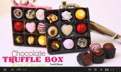 Toni Ellison tutorials Valentine chocolate box