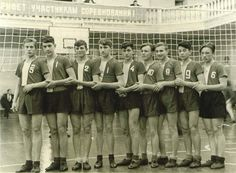 Champions of Moscow soccer team, 1954