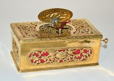 RARE C 1890 Swiss Musical Singing Bird Music Box Automaton | eBay