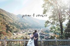 Gorgeous view of the Japanese town of Shirakawa-go in Central Japan during our couple's Japan pre-wedding trip! - See the full album via the link in bio. -  Photo by Kai Ching. View their profile on OneThreeOneFour.com to view their rates and work. Book your photoshoot adventure with #OneThreeOneFour. // Find and book your wedding photographer on www.onethreeonefour.com