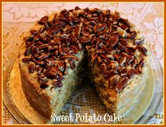 Sweet Tea and Cornbread: Sweet Potato Cake!