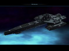 DeviantArt: More Collections Like space ship stargate achilles by Spaceship Art, Spaceship Design, Spaceship Concept, Concept Ships, Stargate Ships, Stargate Atlantis, Stargate Universe, Space Engineers, Sci Fi Spaceships