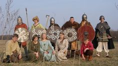 Poland - Slavic costumes from c. 10th-11th centuries: