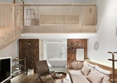 This 22-room boutique hotel was a Inside Festival winner, and was created by refurbishing several small buildings in Mallorca. To ensure a Mediterranean vibe, OHLAB used simple materials including limestone, hemp ropes, aged leather, linen and cotton.