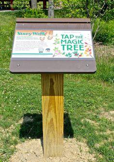 StoryWalk at Mugrage Park blends nature book with nature ...