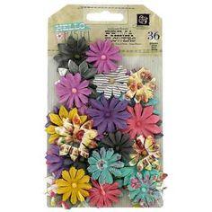 Hello Pastel Mini Flowers