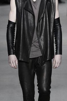 Men's leather by Jan Boelo FW14