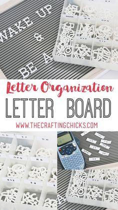 Letter Board Letter