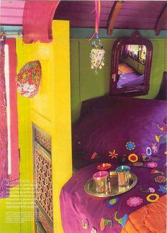 Gypsy, bright colors