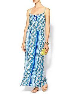 Ella Moss Tiki Maxi Dress | Piperlime awesome print Modal dress
