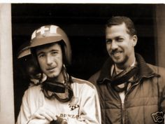 Jo Siffert and Jo Bonnier. Great picture of them. Great drivers, good friends. A lot of excellent work together.