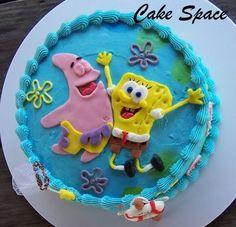 spongebob squarepants cakes | Wendys Cake Space: Spongebob Squarepants Cake