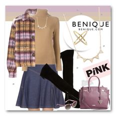 """""""BENIQUE"""" by svijetlana ❤ liked on Polyvore featuring See by Chloé, Opening Ceremony, Chloé, Nine West, GUESS and benique"""
