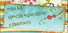 Everything you need to survive in a special education classroom. This blog has awesome resources for teaching special education.