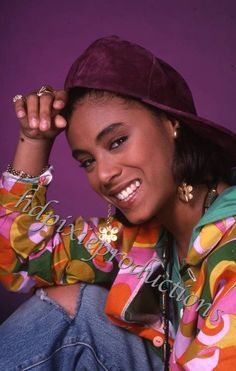 Jada Pinkett Smith a different world