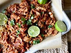 Slow Cooker Mexican Shredded Chicken - The Skinnyish Dish Mexican Shredded Chicken, Slow Cooked Chicken, Gluten Free Chicken, Quesadilla, Enchiladas, Tomato Sauce, Coriander, Hot Sauce, Fried Rice