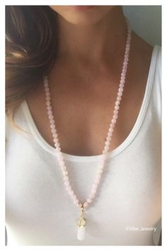 Hey, I found this really awesome Etsy listing at https://www.etsy.com/listing/252019135/108-mala-mala-necklace-108-pink-mala