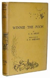 Winnie the Pooh by Milne, A. A..   London: Methuen, 1926. First edition, first printing. Illustrated by E. H. Shepard.  Original first state jacket Fine/Dust Jacket Included.  Listed by B & B Rare Books.