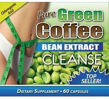 Pure GREEN COFFEE BEAN EXTRACT CLEANSE 60 capsule