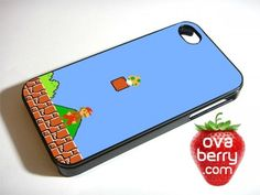 Super Mario Bros Nintendo Game iPhone and Samsung Galaxy Phone Case