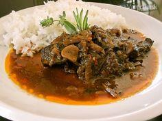Recept som našla v mojej hlave :-), Bembo Ty pretlak nemusíš dať :-) Samos, Ale, Steak, Pork, Kale Stir Fry, Ale Beer, Steaks, Pork Chops, Ales