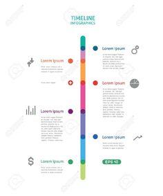 infographics timeline vertical - Sök på Google
