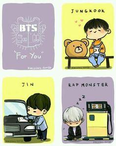 """BTS """"For You"""" MV :3"""