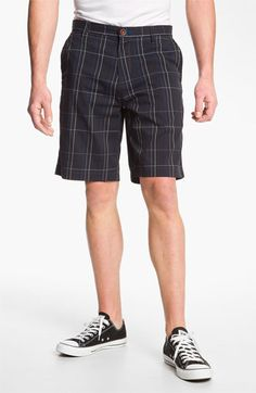 Tommy Bahama 'Grid Life' Flat Front Shorts (Online Exclusive) available at Nordstrom