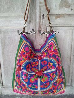 Lavish Lanna Hmong handmade ethnic vintage textile by LavishLanna