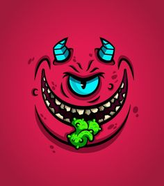 Daniel Ferenčak is a freelance illustrator, cartoonist and character designer from Slovenia. Here's a few monster faces that he designed and mostly - posted under by Fribly Editorial Graffiti Art, Graffiti Doodles, Graffiti Drawing, Cartoon Monsters, Cartoon Faces, Cartoon Art, Doodle Monster, Monster Face, Illustrations