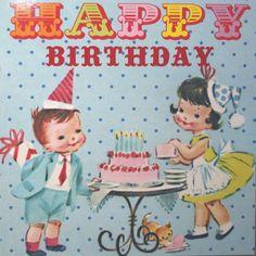 'Tea Party' Birthday Card