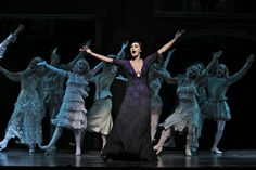 Morticia & Ancestors from Broadway Show