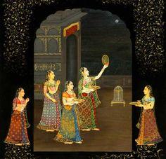 Karva Chauth è una festa  di un giorno celebra delle donne indù in India del nord in cui le donne sposate veloce dal sorgere del sole al sorgere della luna per la sicurezza e la longevità dei loro mariti. Karva è un'altra parola per 'pot' (un piccolo vaso di terracotta di acqua) perchè questa festa si celebra il quarto giorno di luna piena del mese di Kartik che cade in ottobre  oppure Novembre .