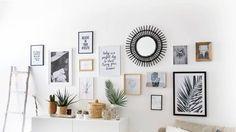 Deco wall frames – Pimp My Room Room Interior, Interior Design Living Room, Living Room Decor, Inspiration Wand, Cool Wall Decor, Living Comedor, Cool Walls, Frames On Wall, My Room