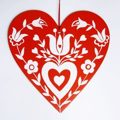 Kashubian Heart