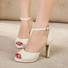 beaded silver wedding shoes for women | Silver Summer Shoes New 2014 Hot Selling Lady wedding shoes high heel ...