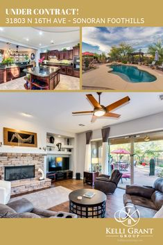 Courtesy of our signature 🚀 Launch Events 🚀, this one's under contract already!  If you're not getting 5-⭐️ service, you're not working with us!  And we'd love to help YOU!  🌐  KelliGrantGroup.com  |  480.779.9656  #TopAgent #PhoenixRealEstate #SonoranFoothillsForSale #5StarReview #TopRatedRealtor #KelliGrantGroup #BerkshireHathaway Phoenix Real Estate, Top Agents, Events, Mansions, House Styles, Outdoor Decor, Home Decor, Decoration Home, Manor Houses
