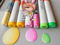 Copic Italia: Have a choccie-tastic Easter con Easterbean !
