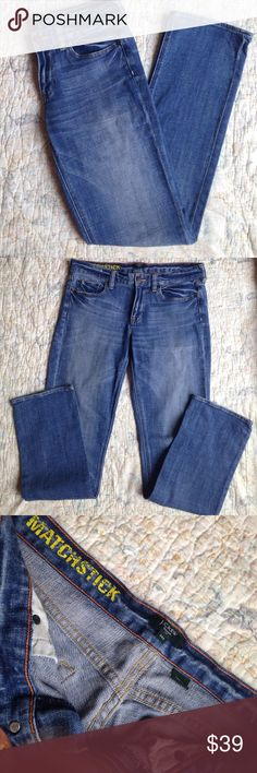 "J. Crew Matchstick Jeans J. Crew Matchstick Jeans. Flat lay measurements. Waist 16"" inseam 31"" and ankle 7"". Size 29s J. Crew Jeans Boot Cut"
