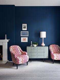 Grace Lamp by Porta Romana, Arlo & Jacob shoot Modern Armchair, Modern Chairs, Club Chairs, Dining Chairs, Dining Room, Chair Design, Furniture Design, Sofa Uk, Farrow And Ball Paint