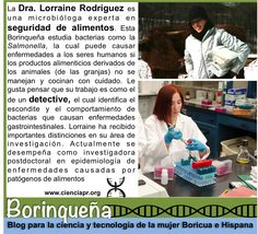 Lorraine Rodríguez, detective de alimentos #cienciaboricua #Borinqueña http://www.cienciapr.org/blogs/borinquena