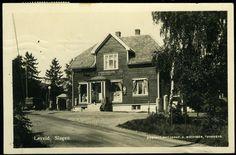 SLAGEN i Tønsberg kommune Vestfold fylke Løveid Landhandleri utg A. Mathisen postg. 1931