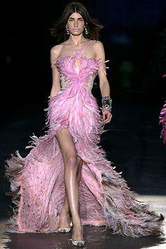 Roberto Cavalli Fall 2003 Ready-to-Wear Fashion Show - Roberto Cavalli, Eugenia Volodina