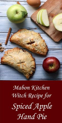 Mabon at the Apple Farm (Plus a Recipe for Spiced Apple Pie!) - Moody Moons Dropping temperatures, cups of piping hot cider and the first hints of changing leaves all signal one thing to me—-Mabon! Apple Pie Recipes, Fall Recipes, Holiday Recipes, Recipe For Apple Pie, Wicca Recipes, Samhain Recipes, Apple Hand Pies, Medieval Recipes, Apple Farm