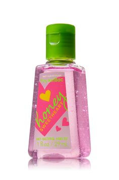 Honey Sweetheart Pocketbac Sanitizing Hand Gel - Anti-Bacterial - Bath & Body Works.   LOVE THIS SENT !!!!!!!!