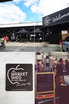 The Market Shed on Holland Street, Adelaide